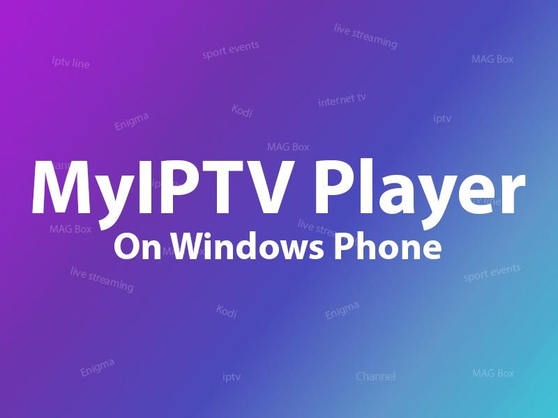 MyIPTV Players